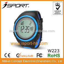 Professional LCD Sports Cheap Digital Stopwatch with Wristband