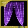 fiber optic light decoration luminous lighting curtain banquet design for hall