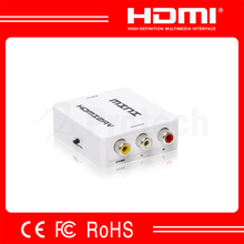 Factory Price1080P HD AV Input HDMI Output AV to HDMI Video Converter HDMI Converter to Composite RCA