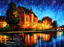 palette knife oil painting art for home decoration44804