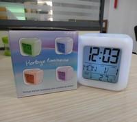 7 Color Change Led Digital Alarm Clock with Radio Clock and Alarm