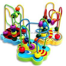 Caliente Mini Assemblage Orbit laberinto para Montessori Juguetes Educativos Juguetes de madera bloques de construcción Juguetes Educativos Juguetes para bebés