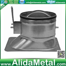 2-inch standoff collars with damper(super heto)for hvac system with ASTM A653 and A924 standards