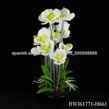 orquídeas artificiales maceta mayor arreglos florales