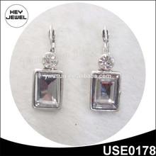Strass plata arete diamante los precios