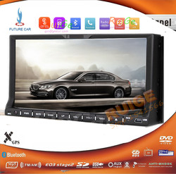 Beat Android 4.2 7'' Car DVD Player GPS Navigator Head Unit 2 DIN Car stereo Radio Capacitive screen RDS BT Dual-Core Wifi