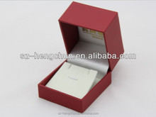 Elegant plastic box with special paper for necklace