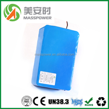 24V 2.6Ah~100Ah OEM ODm rechargeable lithium ion battery for Self-Balanced Vehicle