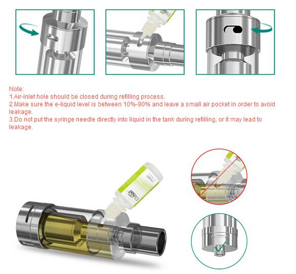 New RBA tank lemo 2 atomizer from ismoka eleaf lemo 2