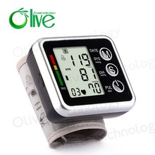 Blood Pressure Monitor Olive, Digital Wrist Blood Pressure Monitor