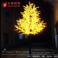 Jardín o hoja luz decoración Parque amarillo de arce llevó árbol de arce