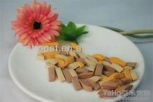 Seco de alimentos para mascotas, de pollo de carne de vacuno de leche sabor seco alimentosparamascotas snacks dental