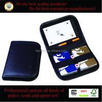 leather poker pocket, leather poker holder