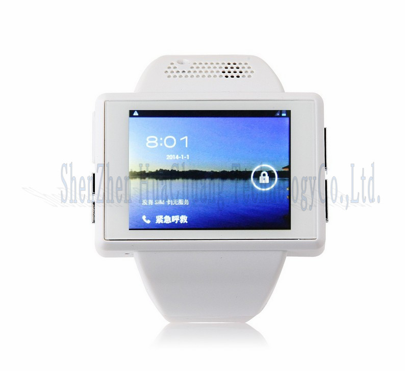 АН1 черный, 2.0 дюймовый android 4.1.1 смарт-часы-телефон, mtk6515m 1.0 ГГц, ОЗУ 512 mb rom 4 gb