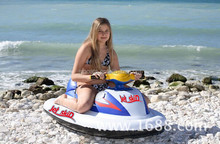 Children Inflatable electric jet ski,Inflatable Sea Scooter