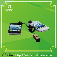Anti-theft eas system/cell phone secure display stands