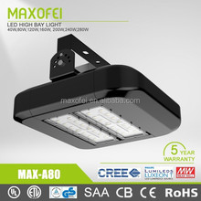 Stable quality 5 year warranty ip67 80w Led tunnel light