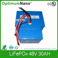 Intrinsically safe Lithium ion battery 48V25ah for golf cart