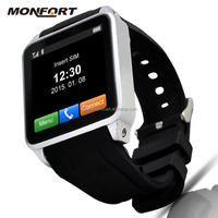 Fashion new products watch mobile phone supporting Bluetooth wifi sim card smart video watch phone