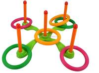 Custom plastic Educational Toys for child,Throwing ring plastic outdoor toy,oem plastic educational toy