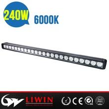 Liwin profesional después de - venta 21600lm 240 w llevó la luz de trabajo bar off road bulbo del automóvil