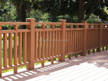 wpc waterproof wooden fencing for garden,low garden fencing