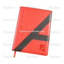 a5 papel popular diseño del libro diario fabricante de china