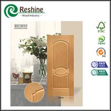 puerta chapa de madera natural