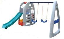 outdoor playground,kids plastic slide,kids swing