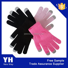 China manufacturer 2015 magic phone touch panel gloves