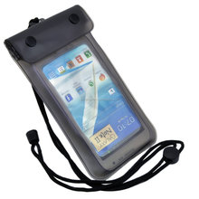 popular hot design factory price fashion clear mobile phone waterproof bag for wholesale