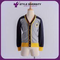 Hot Sale High-End Handmade Unique Latest Design Boys Cardigan Sweater