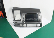 2 din wince 7in car dvd for old civic with iPod, dvd, bt, usb, Radio, analog tv, steering wheel control