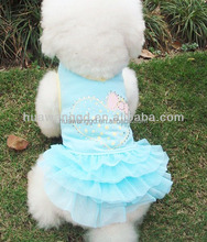 new design high quality dog clothes, pretty pet party dresses, pets product