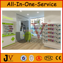 morden mobile phone store interior design and shop design decorative mobiles for mobole display