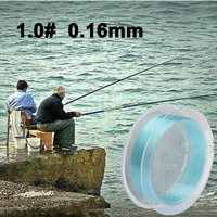 100m Extra Strong 1.0# 0.165mm 6.6kg Power USA Fishing Line (Baby Blue)