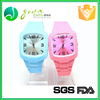 Factory Price New Design Cheap silicone wristband watch , custom silicone watches