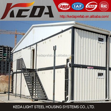 High quality prefabricated steel structure homes mobile modular container house