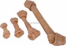 Chewing Bone Rawhide dog press bone