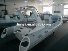 Liya 3.3 - 8.3 m largo inflable del barco de la costilla con CE barco con remos