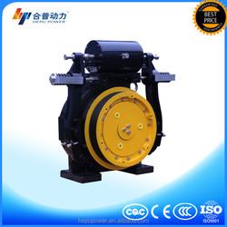 Drum elevator machine gearless traction machine with elevator button