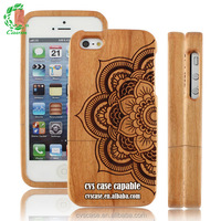 2015 Popular Design Wood Bamboo Mobile Phone Case For Iphone 5s Case .