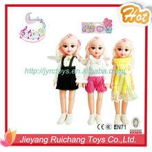 Bel viso del bambino bambole ragazza, 14 pollici bambole baby girl