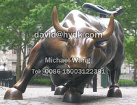 bronze sculptures of the bull for garden decoration(30 years foundry direct manufacturer)