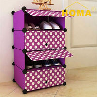 Newest leather beaded Modern Modern display racks for shoes