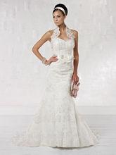nuevo modelo de vestido de boda de la correa desmontable flor appliqued 2013