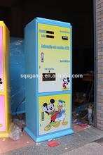 Multifunctional fresh water bottle vending machine with smart prepaid card payment function with high quality