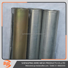 round hole perforated metal for protective mesh/decorative net/rounded corners metal/filter by PVC sheet