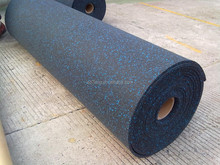 anti aging rubber gym flooring for heavy duty equipment