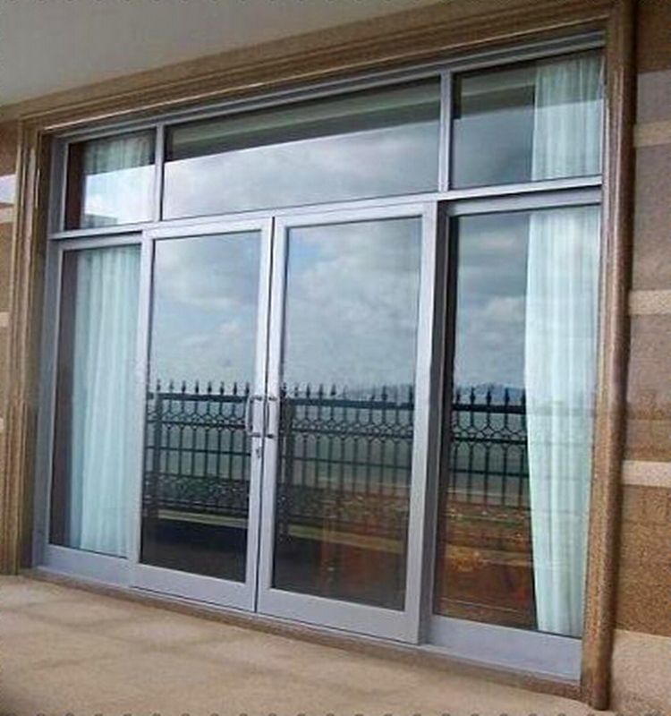 French Designs Used Commercial Glass Doors With Factory